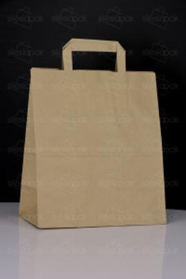 brązowa torba Cateringowa z uchwytem płaskim A3